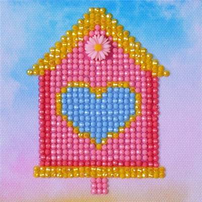 KIT BRODERIE DIAMANT - HOME SWEET HOME