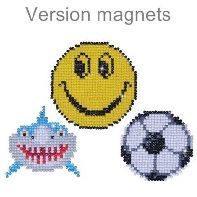 KIT BRODERIE DIAMANT - LOT 3 MAGNETS FUN