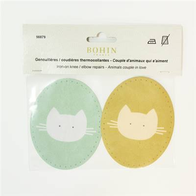 GENOUILLERES CHAT ORANGE - CHAT VERT - LOT DE 3 COUPLES