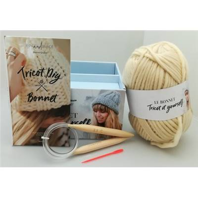 COFFRET TRICOT - LE BONNET TRICOT IT YOURSELF - partie TVA à 20%