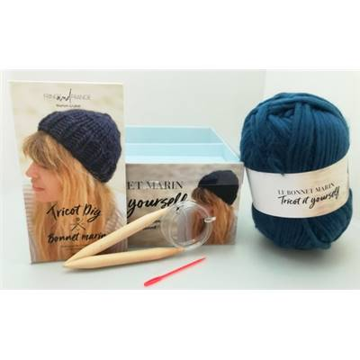COFFRET TRICOT - LE BONNET MARIN TRICOT IT YOURSELF -partie TVA à 20%