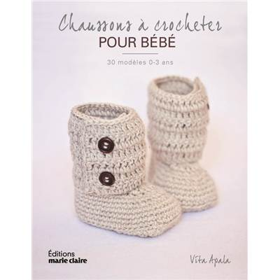 CHAUSSONS A CROCHETER POUR BEBE