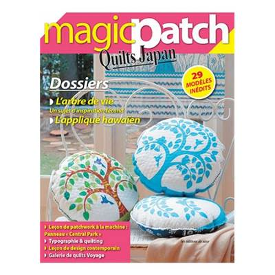 MAGIC PATCH QUILTS JAPAN - L'ARBRE DE VIE ET L'APPLIQUE HAWAIEN