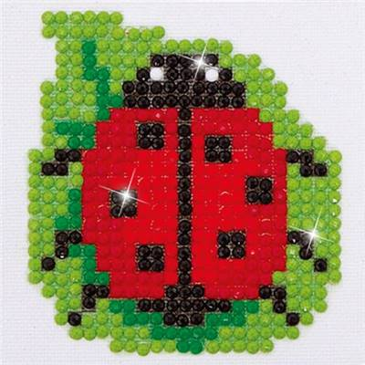 KIT BRODERIE DIAMANT - COCCINELLE