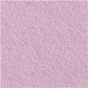 5 FEUILLES FEUTRINE 30 X 45 ROSE PLUME 35% laine / 65% rayonne - NEW