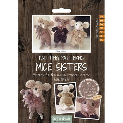 PATRON TRICOT MICE SISTERS + ACCESSOIRES