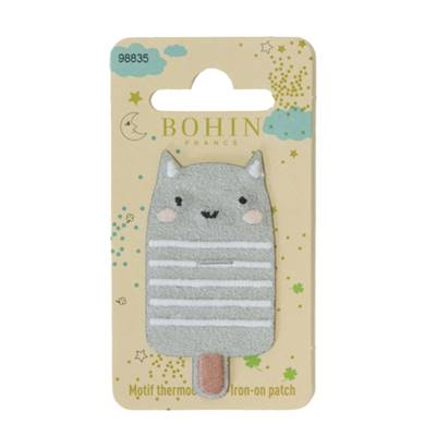 PATCH THERMOCOLLANT - CHAT - SOUS BLISTER
