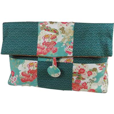 KIT ABC COLLECTION SAC JAPON GRANDE TROUSSE TURQUOISE