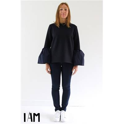 PATRON DE COUTURE I AM PATRICIA - PULL MANCHES COROLLE - 36/46
