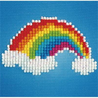 KIT BRODERIE DIAMANT - ARC EN CIEL
