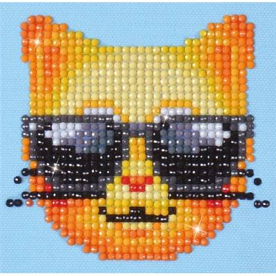 KIT BRODERIE DIAMANT - CHAT COOL